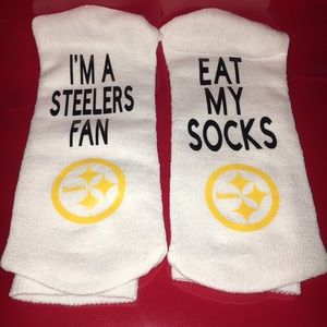 Other - Men's Sports socks Pittsburg Steelers